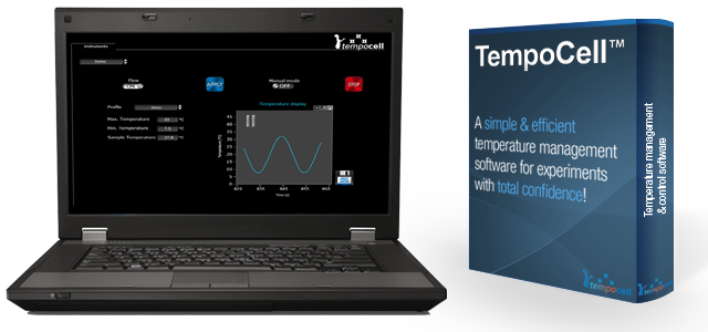 Microfluidic fast temperature controller